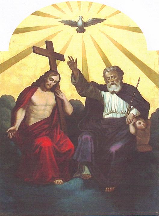 Ikona Nejsvětější Trojice Andreje Rubleva